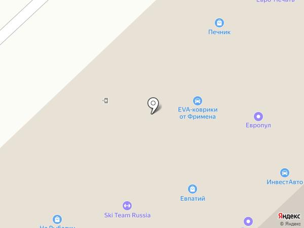 Европул на карте Рязани