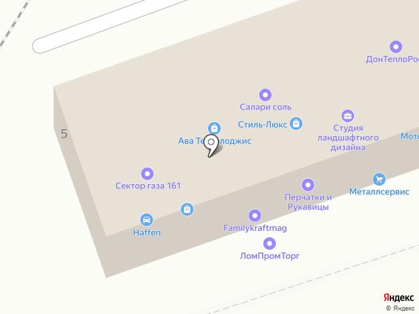 Арсенал Строй на карте Ростова-на-Дону