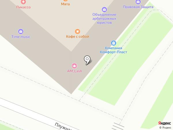 Снаб-Дон на карте Ростова-на-Дону