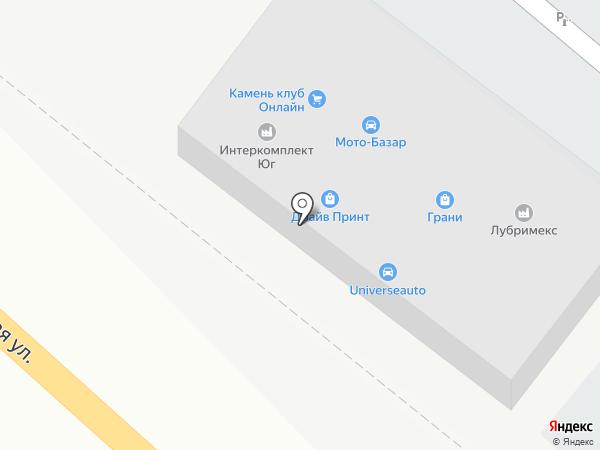 Интеркомплект Юг на карте Ростова-на-Дону