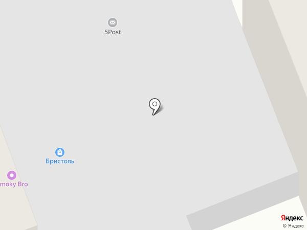 Березка на карте Северодвинска