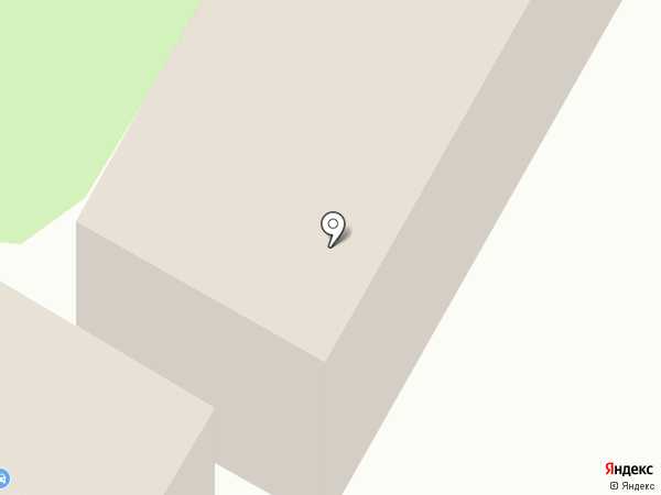 Общежитие на карте Ростова-на-Дону