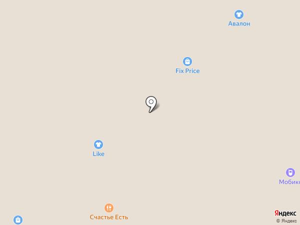 Лапоток на карте Рязани