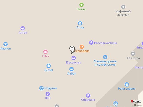 Электрони на карте Рязани