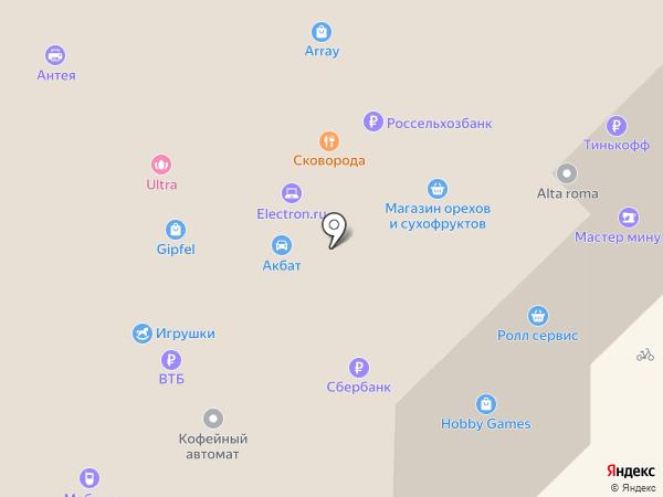 LIKE на карте Рязани