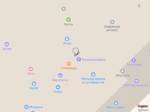 ТаЕда на карте Рязани