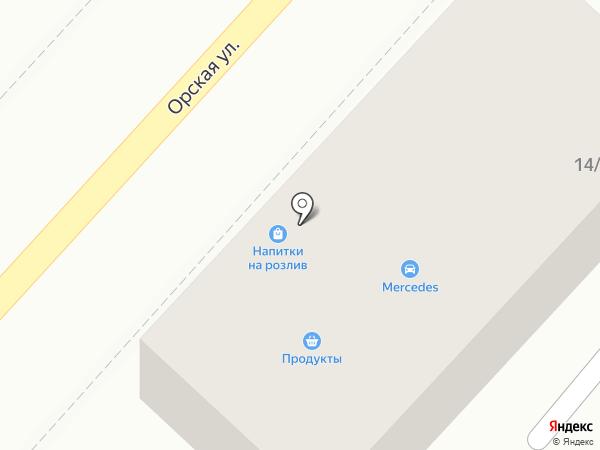Магазин автозапчастей на карте Ростова-на-Дону