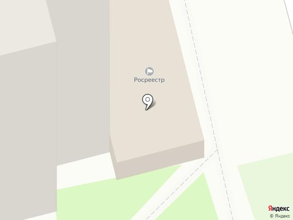 Управление Федеральной службы государственной регистрации, кадастра и картографии по Рязанской области на карте Рязани