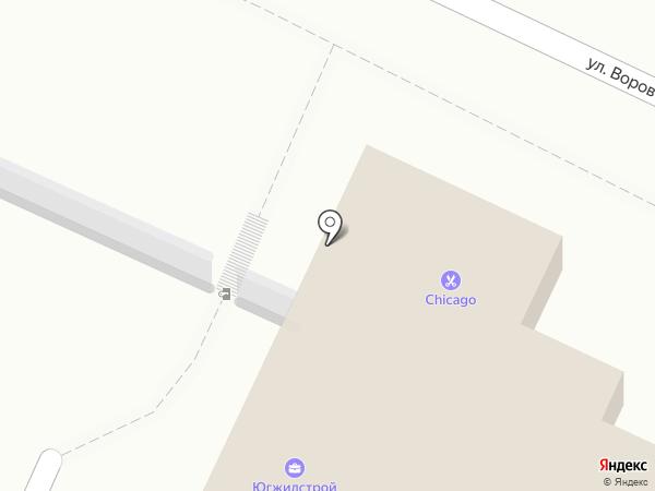 Магазин по продаже мясных изделий на карте Ростова-на-Дону