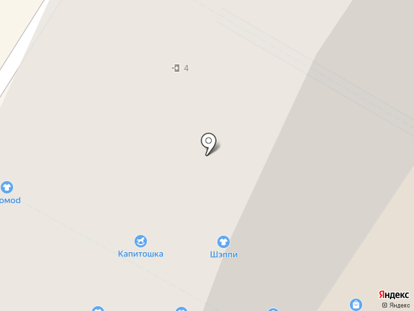 Циркульный на карте Северодвинска