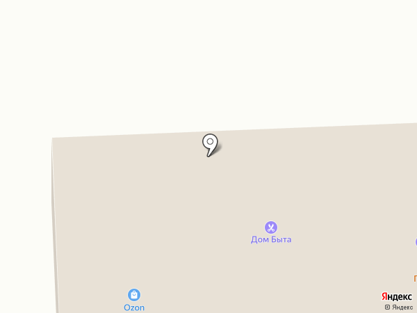 Парикмахерская на карте Северодвинска
