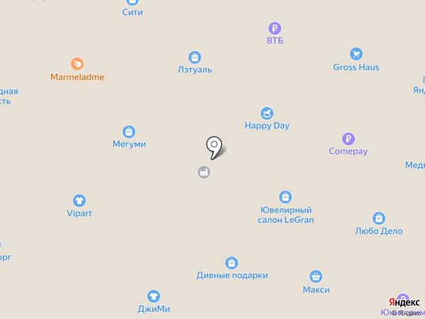 М.Видео на карте Северодвинска