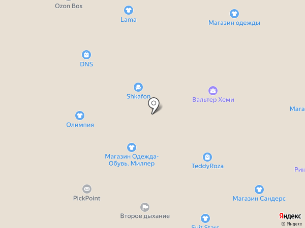 Марго на карте Ростова-на-Дону