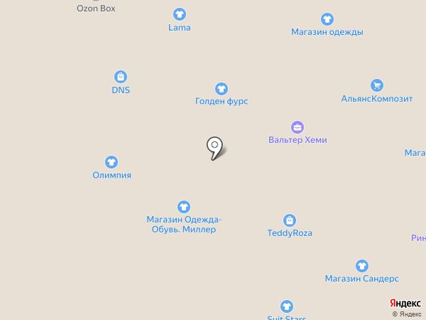 Оля и Коля на карте Ростова-на-Дону
