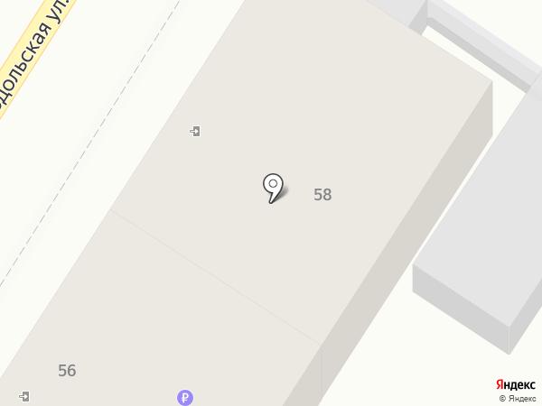 Пивной ряд на карте Ростова-на-Дону