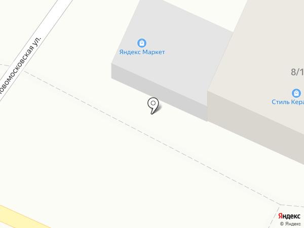 Магазин керамической плитки на карте Ростова-на-Дону