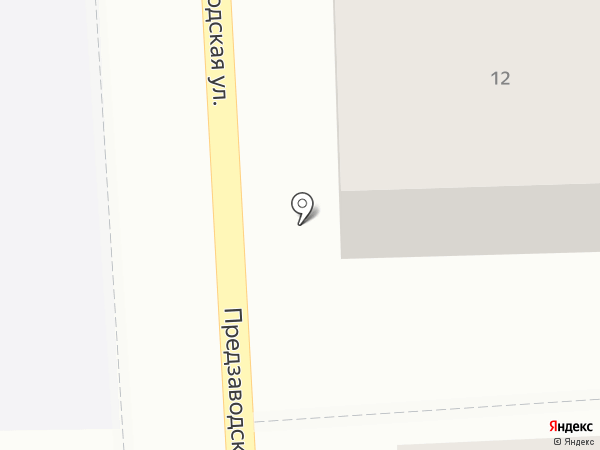 Берёзка на карте Рязани