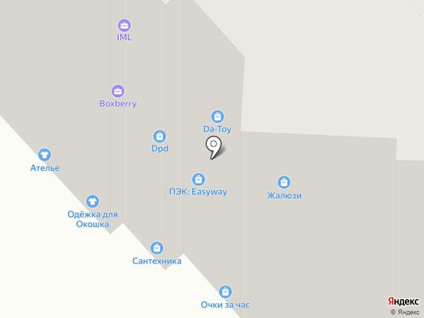 Легкоступ на карте Ярославля
