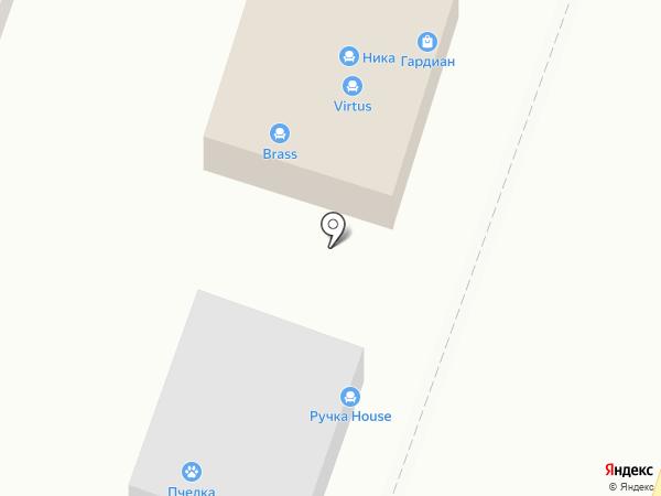 МФК на карте Ростова-на-Дону
