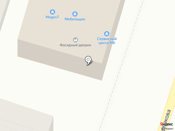 АртФасадЮг на карте Ростова-на-Дону