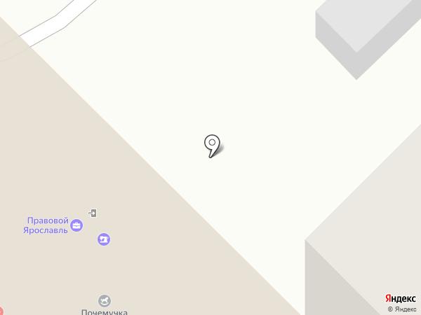 Волшебный город на карте Ярославля