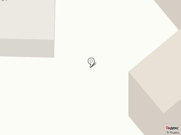 Почтовое отделение №1 на карте Батайска