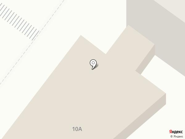 Сильва на карте Рязани