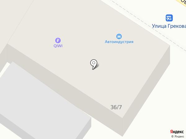 Автоиндустрия на карте Ростова-на-Дону