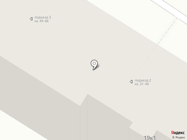 Жираф на карте Рязани