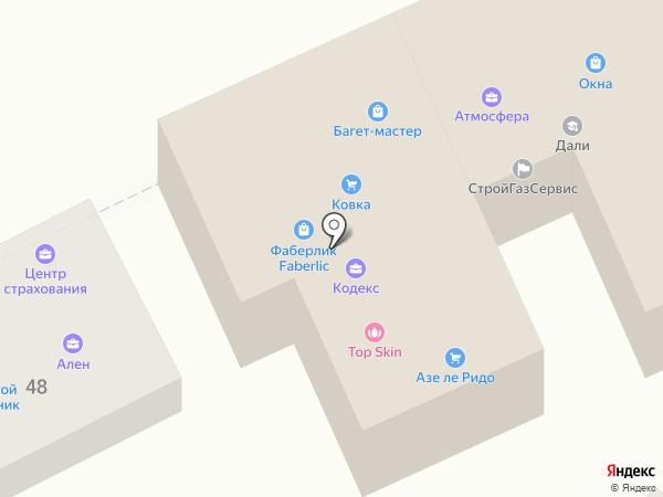 Развитие на карте Ростова-на-Дону