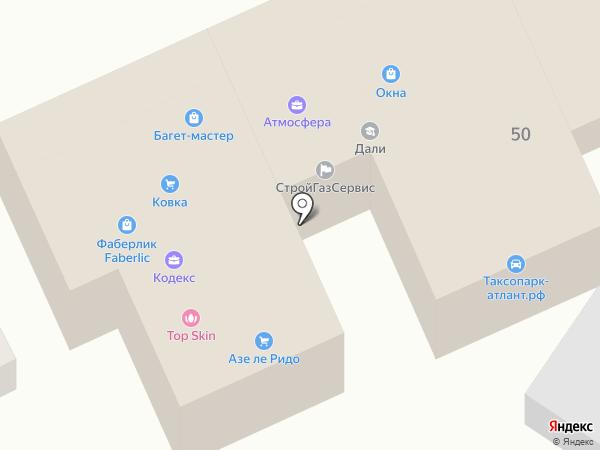 ОКО на карте Ростова-на-Дону