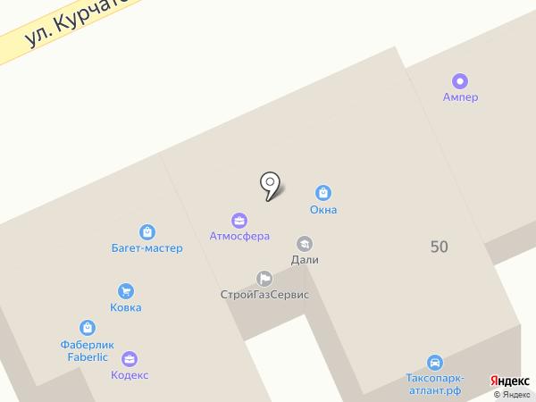Багет-мастер на карте Ростова-на-Дону