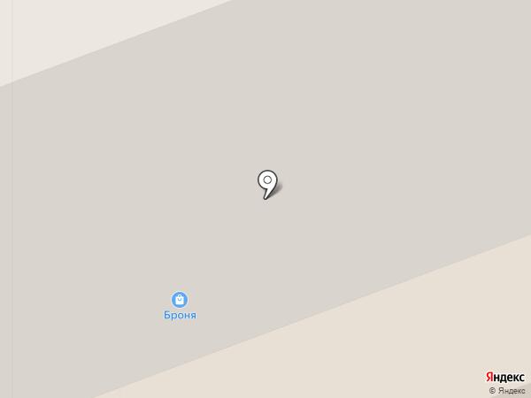 Центр страхования на карте Северодвинска