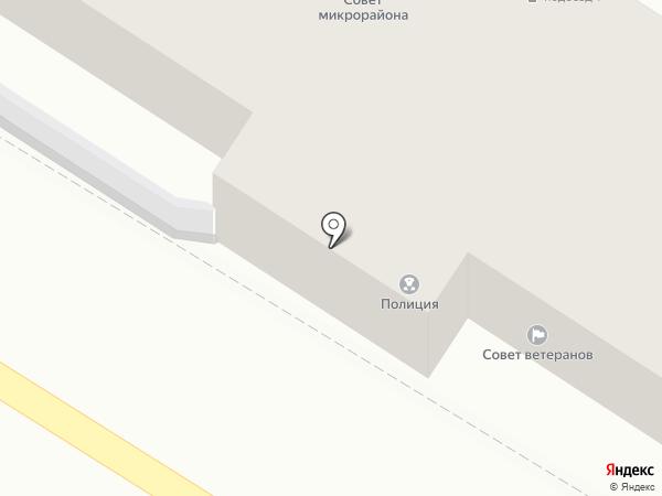 Участковый пункт полиции на карте Ростова-на-Дону