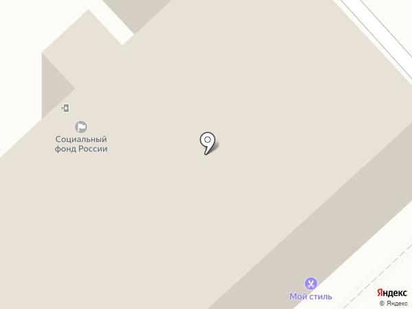 Отделение Пенсионного Фонда РФ по Дзержинскому району г. Ярославля на карте Ярославля