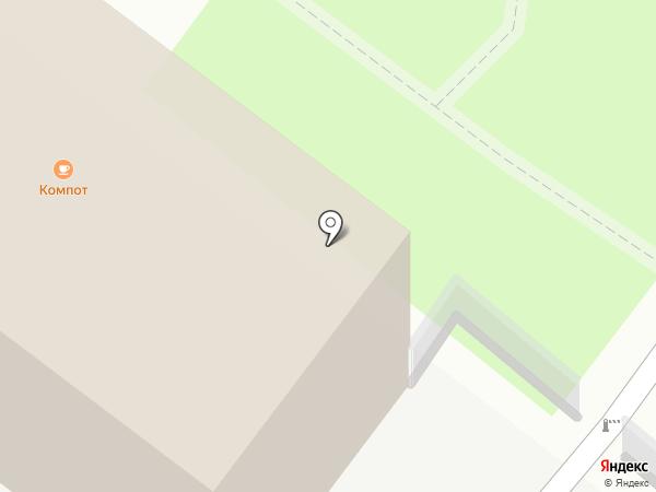 Labirint на карте Рязани