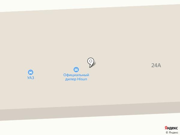 4х4 на карте Ярославля