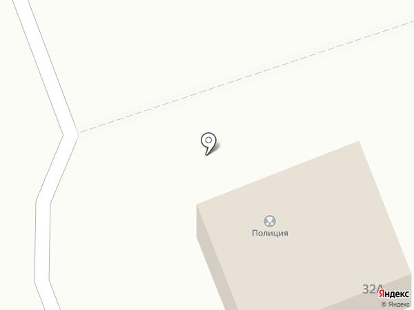 Участковый пункт полиции, Отдел полиции №13 на карте Северодвинска