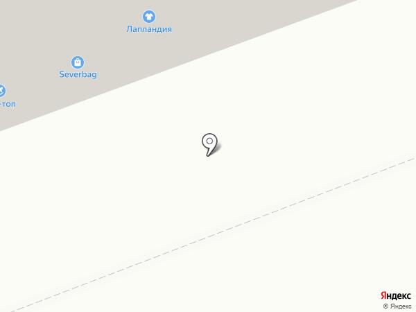 Фантазия на карте Северодвинска