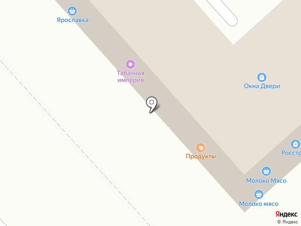 Айва на карте Ярославля