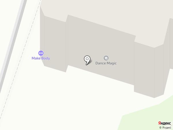 Школа спортивного танца Руслана Аколупина на карте Рязани