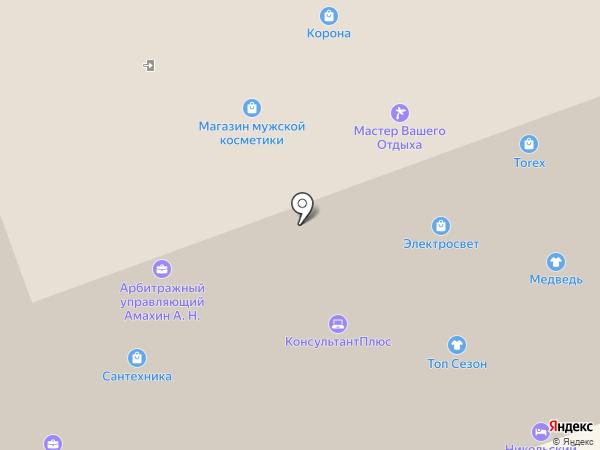 Электросвет на карте Северодвинска