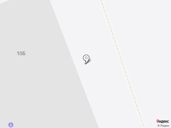 Спутник на карте Северодвинска