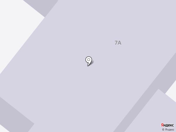 Детский сад №57, Лукоморье на карте Северодвинска
