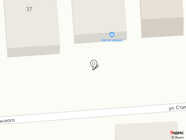 Авторем 161 на карте Ростова-на-Дону
