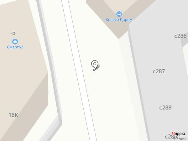 Карси на карте Рязани