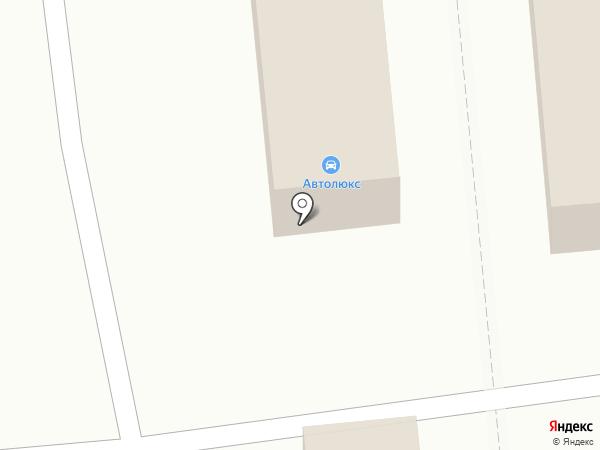 Автолюкс на карте Рязани