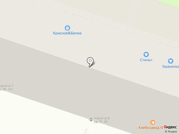 Клёпа на карте Рязани