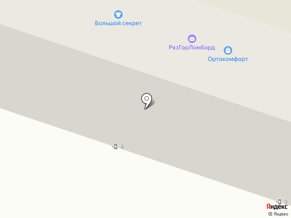 Ортопедия на карте Рязани