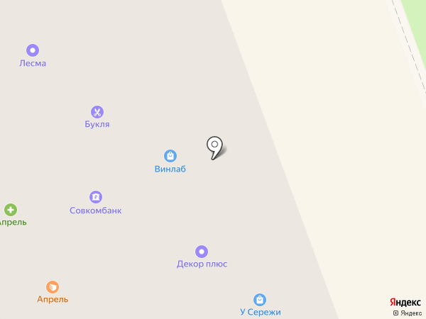 Кораблик на карте Северодвинска
